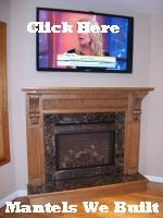 Click Here for Mantels We Build